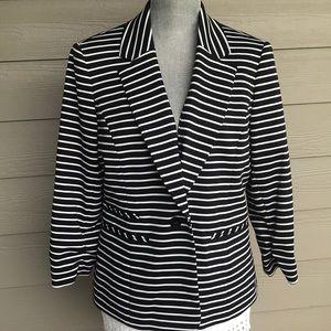 Striped blazer Nine West size 12